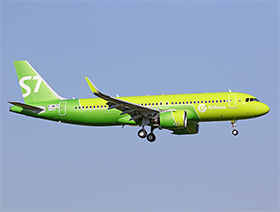 Airbus A320-251N - cn 7629 - F-WWBG / VQ-BCF - S7 Siberia Airlines