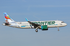 "A320-251N - Frontier Airlines ""Georgia the Painted Bunting"""