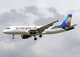 Airbus A320-214 - Small Planet Airlines