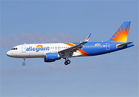 A320-WL - Allegiant Air - photo : J.B.