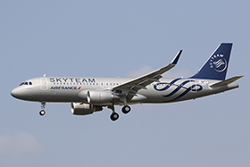 A320-WL - SkyTeam / Air France