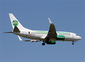Boeing B737-75B - Germania - (Photo : Y.P.)