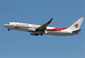 "Boeing B737-8D6 - Air Algerie - ""25th Boeing 737NG"" - 7T-VKM - (Photo : Y.P.)"