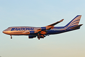 "Boeing B747-428M(BCF) - National Airlines - ""Expo 2020 Dubai UAE"" - N952CA"