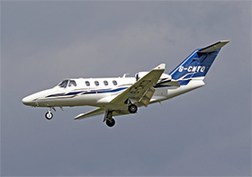 Cessna 525 Citation M2 - Golconda Aircraft Leasing - G-CMTO